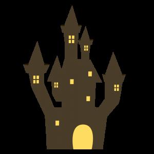 ハロウィン お城