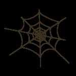 ハロウィン 蜘蛛の巣