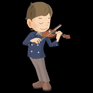 バイオリン 少年