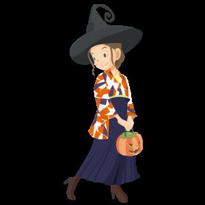 ハロウィン袴